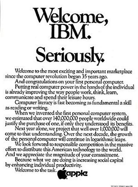 Apple computer magazine ads   The Pop History Dig
