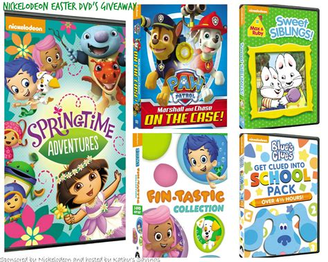 Nickelodeon Giveaway - nickelodeon easter dvds giveaway