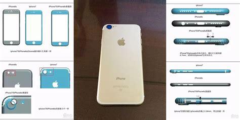 iphone 7 leak details a shorter chubbier but narrow device