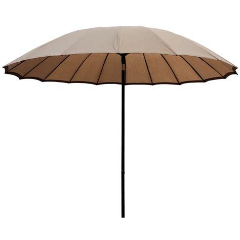 Sun Garden Umbrella by 2 5m Taupe Tilting Garden Parasol Sun Shade Canopy Umbrella