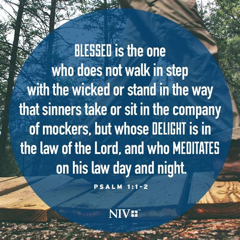 niv verse of the day psalm 1 1 2