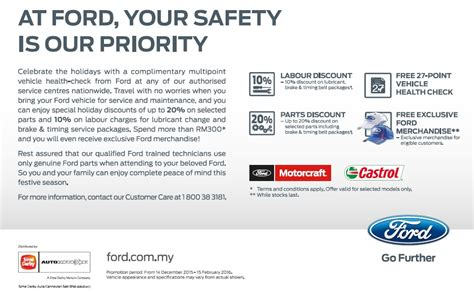 Ford Offers Attractive Cash Rebates For Chinese New Year