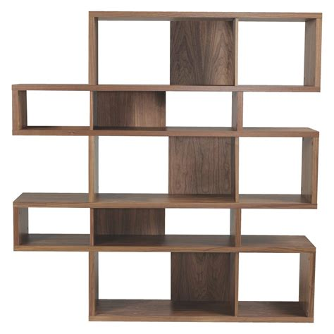antonn walnut shelving unit buy now at habitat uk