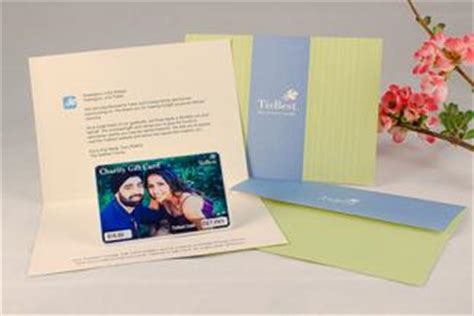 Charitable Gift Cards - giving charity donations as wedding favors lovetoknow
