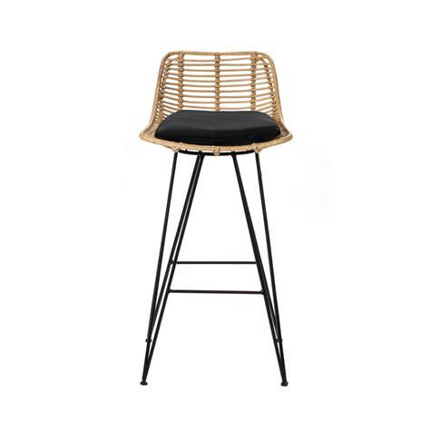 Chaise De Bar Rotin by Chaise De Bar Design En Rotin 69cm Capurgana Drawer