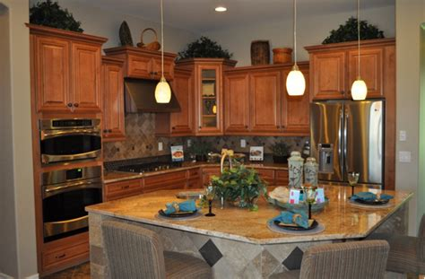 Kitchen Triangle Design With Island Island Shape Adds To Kitchen Functionality