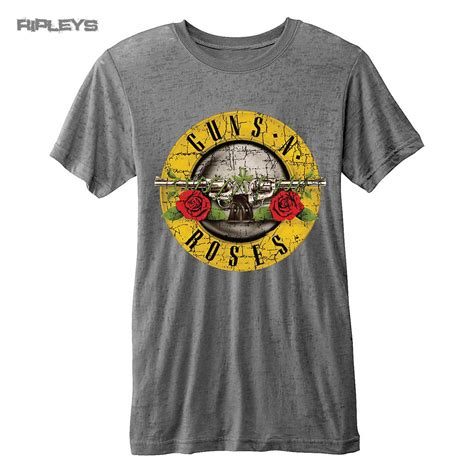 Guns N Roses Logo 4 Mens T Shirt official t shirt guns n roses vintage distressed logo