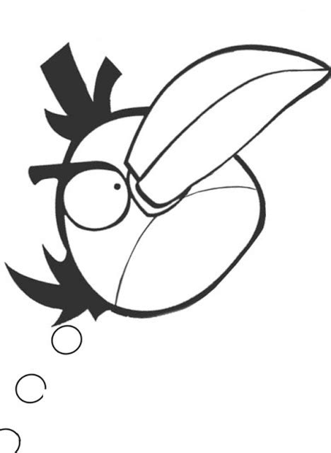 mighty eagle coloring page unique comics animation most useful angry birds coloring
