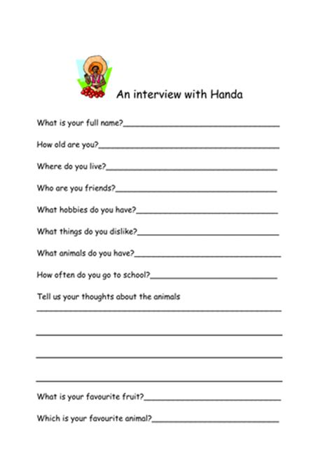 Book Report Template Middle School Free