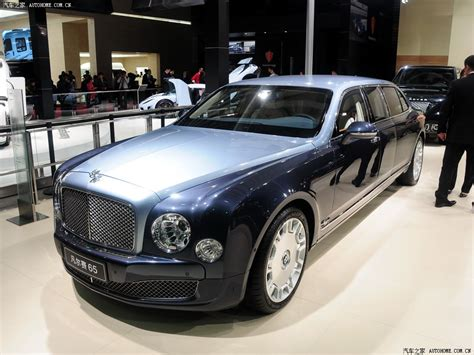 bentley mulsanne limo shanghai 2013 armoured bentley mulsanne limousine by