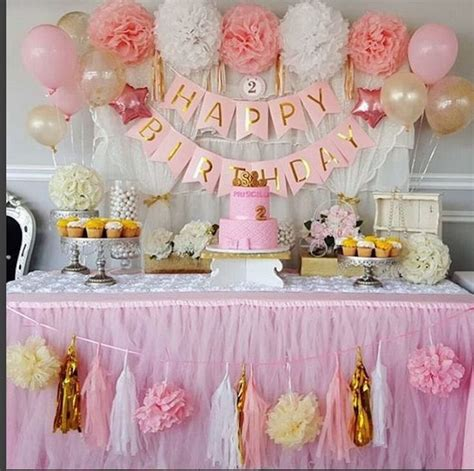 how to decorate a birthday party at home 17 best ideas about first birthday decorations on