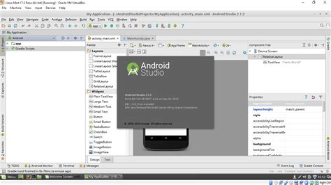 linux for android android er install android studio 2 1 2 on linux mint 17 3 rosa