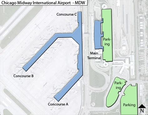 chicago midway airport map mdw chicago midway airport terminal maps