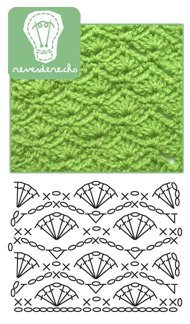 thought pattern en francais nice shell stitch pattern by revesderecho tutos en