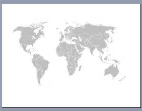 World Map Template For Powerpoint by Free Editable Worldmap For Powerpoint