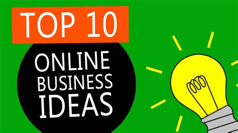best small business top 10 best business ideas to start a small