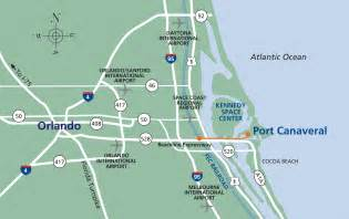 florida port canaveral map port canaveral