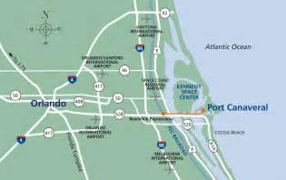 map port canaveral florida port canaveral