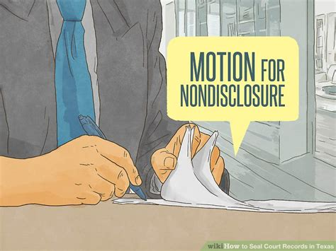 Motion To Seal Court Records How To Seal Court Records In With Pictures Wikihow