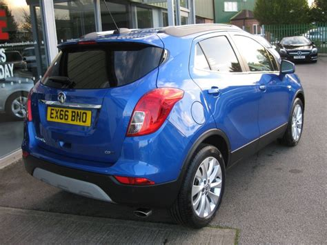 vauxhall blue used boracay blue metallic vauxhall mokka for sale