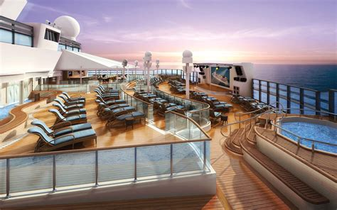 norwegian cruise bliss this new cruise ship is bringing a go kart track luxe spa