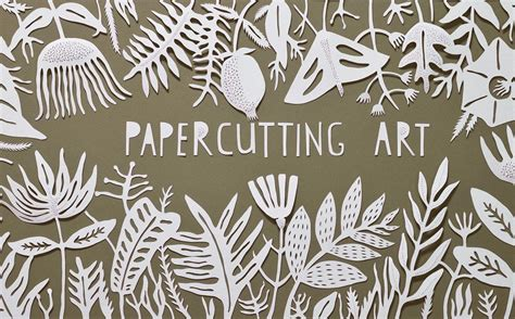 How To Make Paper Cutting Designs - decorative styling with papercutting malva