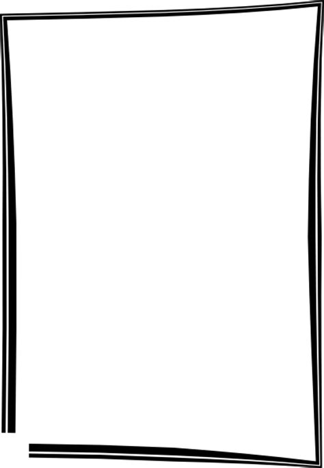 square nape line on black person frame clip art free vector 4vector