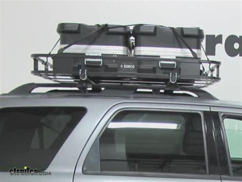 Surco Roof Racks by Surco Safari Rack 5 0 Rooftop Cargo Basket For Yakima Roof