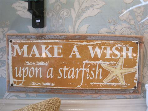custom home decor signs quot make a wish quot sign custom wooden sign beach decor