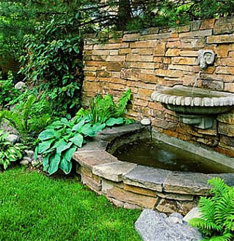 water in landscaping home landscaping