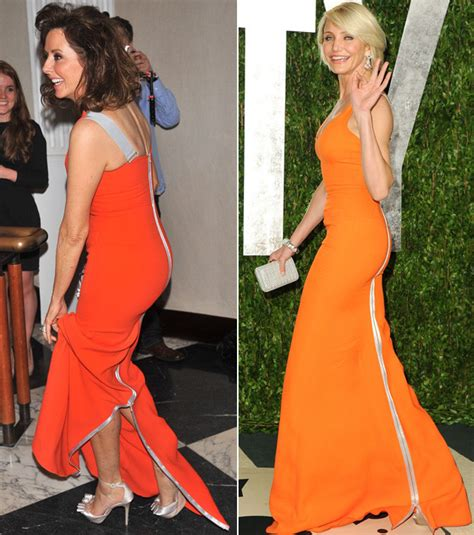 Take Inspiration From Cameron Diaz And Beckham At The 2007 Mtv Awards With These Bcbgirls Katchen High Heel Shoes by Snap Carol Vorderman Wears Cameron Diaz S