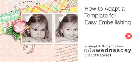 How To Adapt A Template For Easy Embellishing Simply Tiffany Studios Adobe Sts Templates
