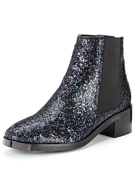 glitter ankle boots womens mens and fashion furniture