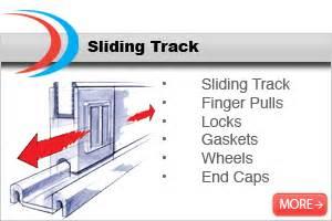 sliding glass cabinet door track sliding track profiles