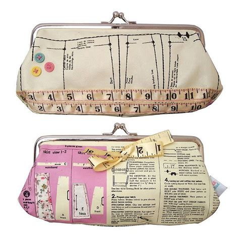 pattern for vintage purse vintage sewing pattern make up bag by this is pretty