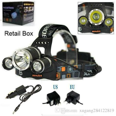 T6 High Power Headl Cree Xm L T6 5000 Lumens Hitam high power 5000lum cree xm l 3x t6 led headlight headl