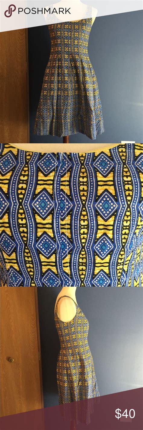 west dress  geometric pattern  simple