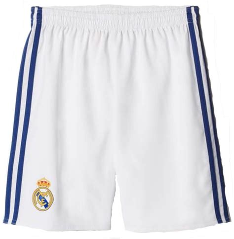 Shorts Go Real Madrid Home 1 adidas ai5144 real madrid football soccer home shorts 2016 17 size medium new