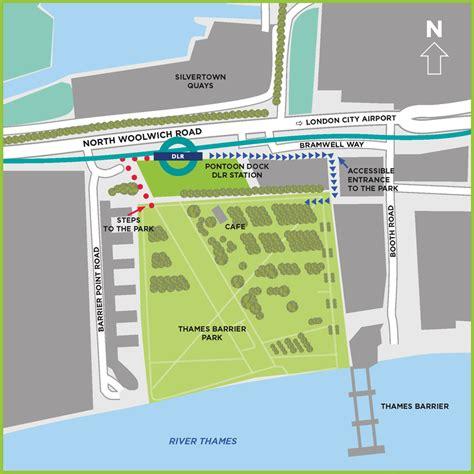thames barrier location map thames barrier park map my blog