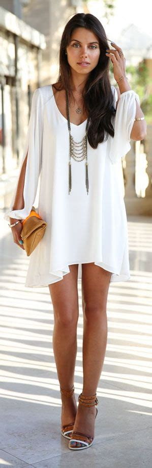 Promo Boho Chic style white dress with a touch of boho chic what more could you want shop white heat