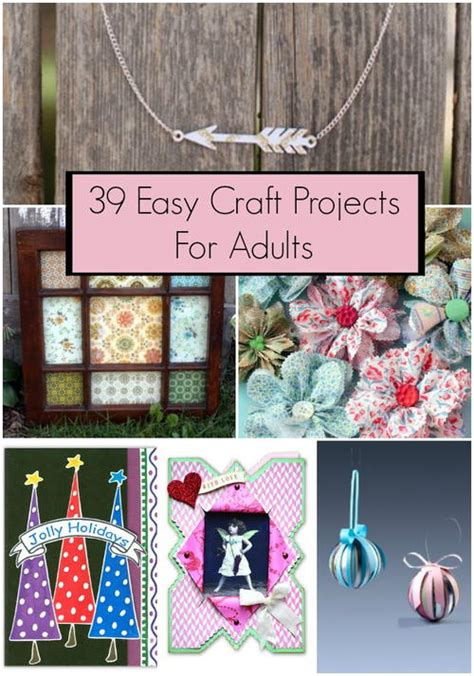 easy craft projects for adults 39 easy craft projects for adults