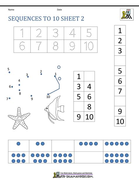 pattern sequence for kindergarten math sequencing worksheets 5th grade picture sequence