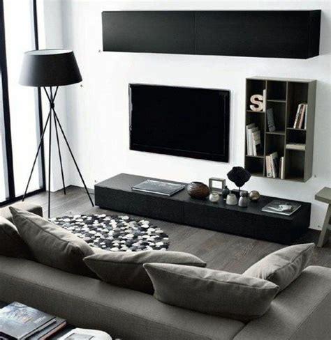 Idee Deco Mur Gris by D 233 Co Salon Salon En Noir Blanc Et Gris Idee Deco Salon