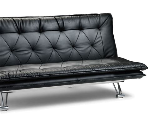 sofa bed clic clac uk elan faul leather clic clac sofa bed