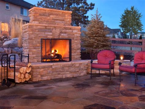 Hgtv Home Decorating Ideas How To Plan For Building An Outdoor Fireplace Outdoor