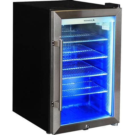 Freezer Mini Bar schmick tropical glass door mini glass bar fridge 70 litre