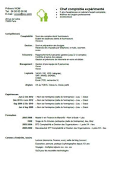 Modèles De Lettres Spontanées Exle Resume Exemple Cv Comptable
