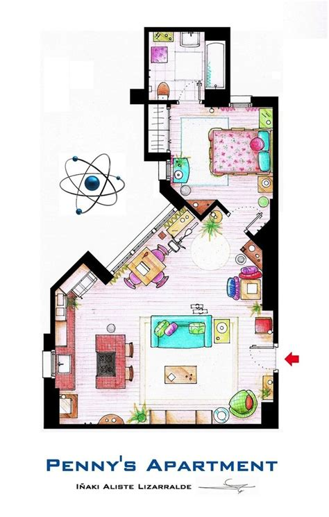 the big bang theory apartment penny s apartment big bang theory big bang theory