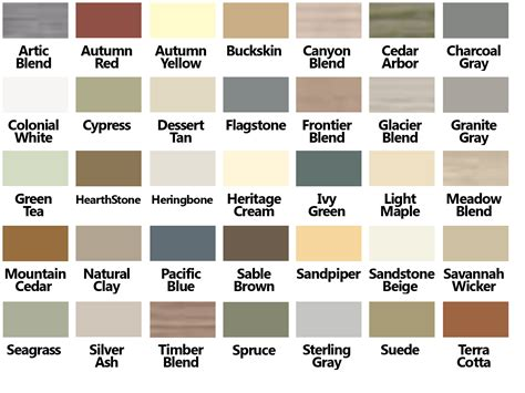 certainteed shingles colors chart certainteed vinyl siding color chart for the house