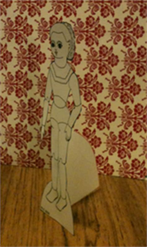 How To Make A Paper Doll Stand - how to make a stand for the paper dolls paper thin personas